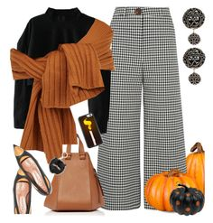 October by petalp on Polyvore featuring polyvore fashion style A.W.A.K.E. Marni Loewe Kate Spade Improvements TIBI clothing