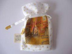 Hodvábne vrecúško / Silken bag, ručne maľovaný hodváb / Hand-painted silk