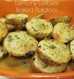how to use leftover baked potatoes