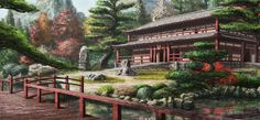 japanese temple art - Google zoeken
