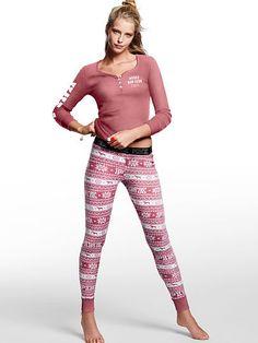 Thermal Sleep Legging - PINK - Victoria's Secret Color: Soft Begonia, Size: large https://www.victoriassecret.com/pink/new-arrivals-mobile-apparel/thermal-sleep-legging-pink?ProductID=254925&CatalogueType=OLS&search=true