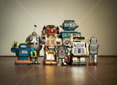 Robot Family Pic Royalty Free Stock Photo With coupon codes and promotional codes.