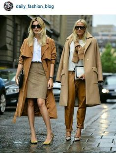 Cool weather isn't too far off so it's time for a little camel coat eye candy to get us excited for fall. Every woman should own at least one camel coat in their closet, wouldn't you agree? Fashion Gone Rouge, Fashion Mode, Womens Fashion, Net Fashion, Street Fashion, Fashion Trends, Fashion Ideas, Camel Coat Outfit, Brown Outfit