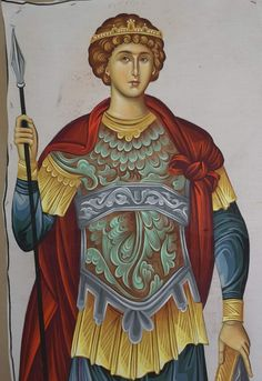 Byzantine Icons, Orthodox Icons, Saints, Sculptures, History, Painting, Men, Historia, Painting Art