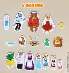 """6 сказок: """"Репка"""",  """"Колобок"""", """"Теремок"""", """"Маша и медведь"""", """"Лиса и Медведь"""" и """"Курочка ряба"""".  Цена 300 рублей"""