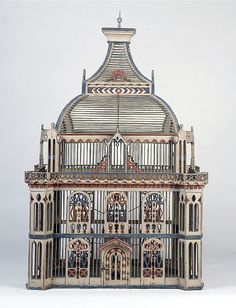 Architectural Bird Cage por john sideli ~ x