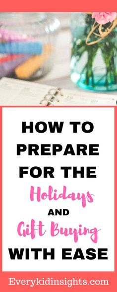 Preparing for the holidays does not have to be stressful. Planning and breaking down tasks into manageable chunks will help you prepare with ease. Single Parenting, Kids And Parenting, Parenting Hacks, Boss Lady Gifts, Gifts For Boss, Interesting Blogs, Relationship Gifts, Chores For Kids, Feeling Special