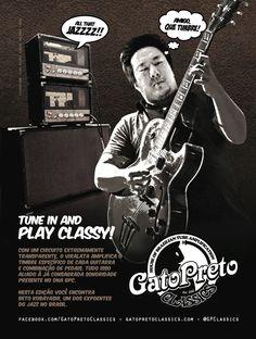 """Ad 7 - Guitar Player Magazine - Sep/13 - Who: Beto Kobayashi - Campaign: """"Inclusão Valvulada"""""""
