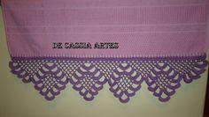 MAIS UMA MISSÃO CUMPRIDA - ENCOMENDA ENTREGUE. Valance Curtains, Lace Shorts, Women, Dish Towels, Crocheting, Valence Curtains, Woman