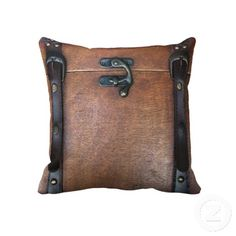 Steam trunk throw pillow!