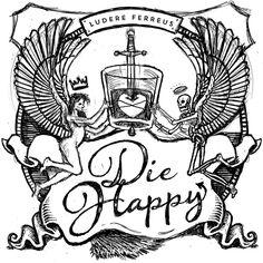 Die Happy Coasters by Bob Case, via Behance
