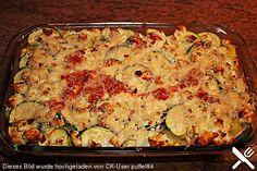 Zucchini - Gnocchi - Auflauf