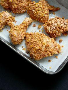Fokhagymás csirkemellcsíkok, különleges panírban! Nagyon nagyon ízletes!! - Ketkes.com