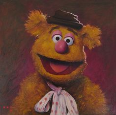 Fozzy Bear by iconicafineart on deviantART