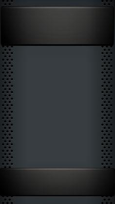 Black Banner and Base Wallpaper Wallpaper Edge, Black Background Wallpaper, Metal Background, Wallpaper Downloads, Screen Wallpaper, Mobile Wallpaper, Pattern Wallpaper, Wallpaper Backgrounds, Brush Background