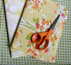 Make your own fabric covered journals