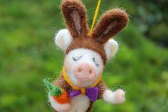 Nein ich bin kein Schwein !!!   GEFILZT von Frau Brunsels Filz auf DaWanda.com