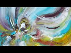 After the Rain-Acrylmalerei in Echtzeit-Acrylic Painting in Real Time - YouTube