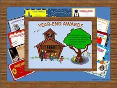 Year-End Achievement Awards Certificates
