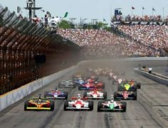 The Greatest Spectacle in Racing!  The Indy 500.