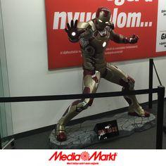 Iron Man, a Mammut Media Markt őre.
