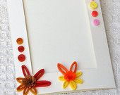 Quilled Card Paper Quilling Card Photo Frame Card Paper Frame Quilled Card Quilling Flower Floral Frame Quilled Frame Quilling Art