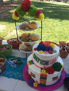 Mexican #Fiesta party ideas & Mexican Centerpieces | The Posh Pixie: Mexican Party Table ...