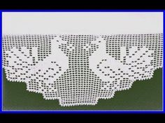 Falda de sábana hecha a mano con borde de toalla Patrones de encaje y ganchillo - 코바늘 - Crochet Boarders, Crochet Blocks, Crochet Flower Patterns, Doily Patterns, Crochet Flowers, Knitting Patterns, Filet Crochet, Crochet Cross, Crochet Chart
