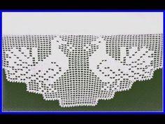 Falda de sábana hecha a mano con borde de toalla Patrones de encaje y ganchillo - 코바늘 - Crochet Elephant, Crochet Birds, Crochet Cross, Crochet Chart, Crochet Home, Filet Crochet, Crochet Boarders, Crochet Blocks, Crochet Flower Patterns