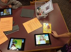 Using Tellagami and ChatterPix to create book promos at DCG Elementary Libraries
