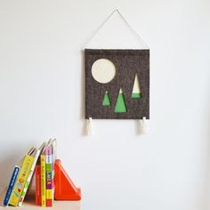 NEW handmade children's wall hangings from A Alicia www.aalicia.bigcartel.com