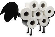Sheep Toilet Roll Holder | Free Standing Toilet Paper Stand | Metal Toilet Accessory | Fun Bathroom Accessories | Pukkr: Amazon.ca: Home & Kitchen Toilet Paper Stand, Toilet Accessories, Toilet Roll Holder, Smart Storage, Amazing Bathrooms, Sheep, Metal, Fun, Amazon