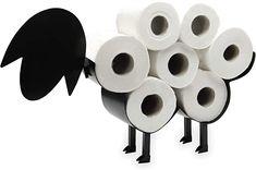Sheep Toilet Roll Holder | Free Standing Toilet Paper Stand | Metal Toilet Accessory | Fun Bathroom Accessories | Pukkr: Amazon.ca: Home & Kitchen Toilet Paper Stand, Toilet Accessories, Toilet Roll Holder, Smart Storage, Amazing Bathrooms, Home Improvement, Basket, Sheep, Amazon