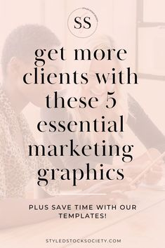 Marketing Graphics for Business - 5 types of marketing graphics to market your business online - plus get access to hundreds of customizable Canva templates to help save you time on social media marketing. // Styled Stock Society -- #stylestocksociety #stockphotography #canvatemplates #graphicdesign #socialmediamarketingtips #femaleentrepreneurtips #brandingtipsforfemaleentrepreneurs Small Business Marketing, Business Tips, Online Business, Marketing Tools, Content Marketing, Social Media Marketing, Afraid Of Commitment, How To Get Clients, How To Get Followers
