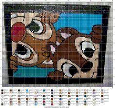 knabbel en babbel pixeldeken