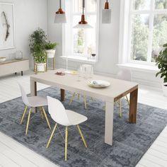 Comedor de estilo nórdico. http://www.aristamobiliario.es/27-mesas-de-comedor