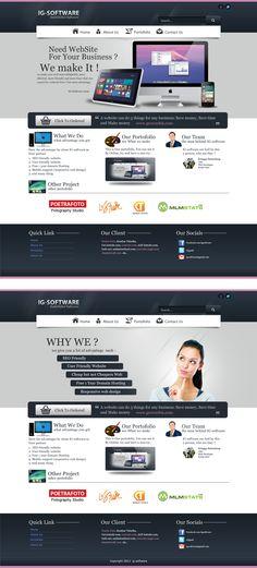 #Webdesign #landingpage