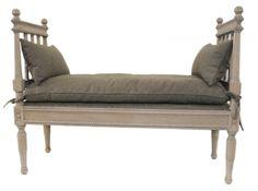 Flott Java benk i gråvasket eik. Passer perfekt i gangen, på soverommet eller…