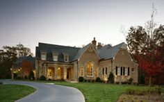 Front of Harrison Design Associates Projects Beautiful Space, Beautiful Homes, House Beautiful, Future House, My House, Harrison Design, House Elevation, Architectural Elements, Exterior Design