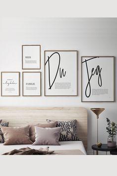 Eksklusiv pakke med 5 av våre bestselgende posters🤩 - - - Frakt: GRATIS Levering: 2-5 virkedager Trustpilot: 4,6 av 5 Gallery Wall, Home Decor, Decoration Home, Room Decor, Interior Decorating