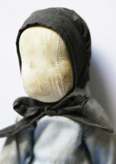 Amish doll ~ No graven images