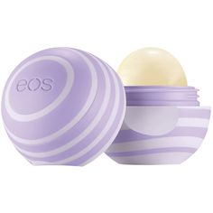 E.O.S Eos Blackberry Nectar Visibly Soft Lip Balm found on Polyvore featuring beauty products, skincare, lip care and lip treatments