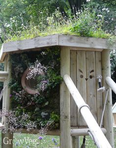 Step by step advice on constructing and planting a green roof on your garden shed or outbuildings. Shed Images, Sedum Roof, Shed Design Plans, Fibreglass Roof, Living Roofs, Alpine Plants, Rooftop Garden, Small Garden Design, Garden Photos