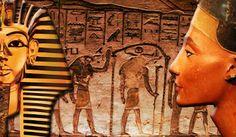 Hieroglifele din templele egiptene vorbesc despre escadrilele faraonilorAr fi putut oare vechii egipteni sa foloseasca in lupta elicopterele si avioanele