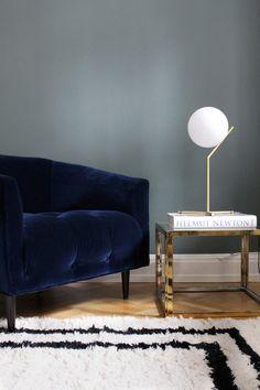 Carla chair deep blue