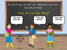 Reading Skills Game: Practice drawing conclusions by throwing water balloons at substitute teachers! RoomRecess.com