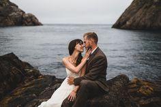 A Newfoundland Wedding Elopement by Toronto and Newfoundland Wedding Photographer, Jennifer Moher Photography and Hugh Whitaker Photography