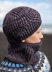 Ravelry: Vegvisir Cowl and Hat pattern by Christelle Nihoul
