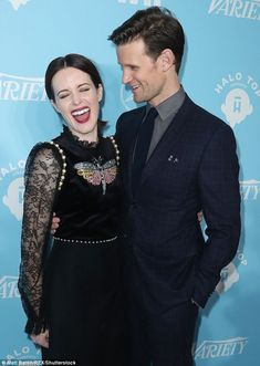 281a9fa3a0 We are amused  Stars of the royal drama The Crown Matt Smith