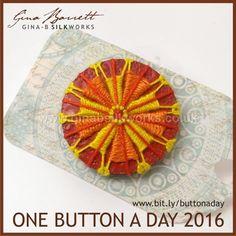 Day 214:Harvest #onebuttonaday by Gina Barrett